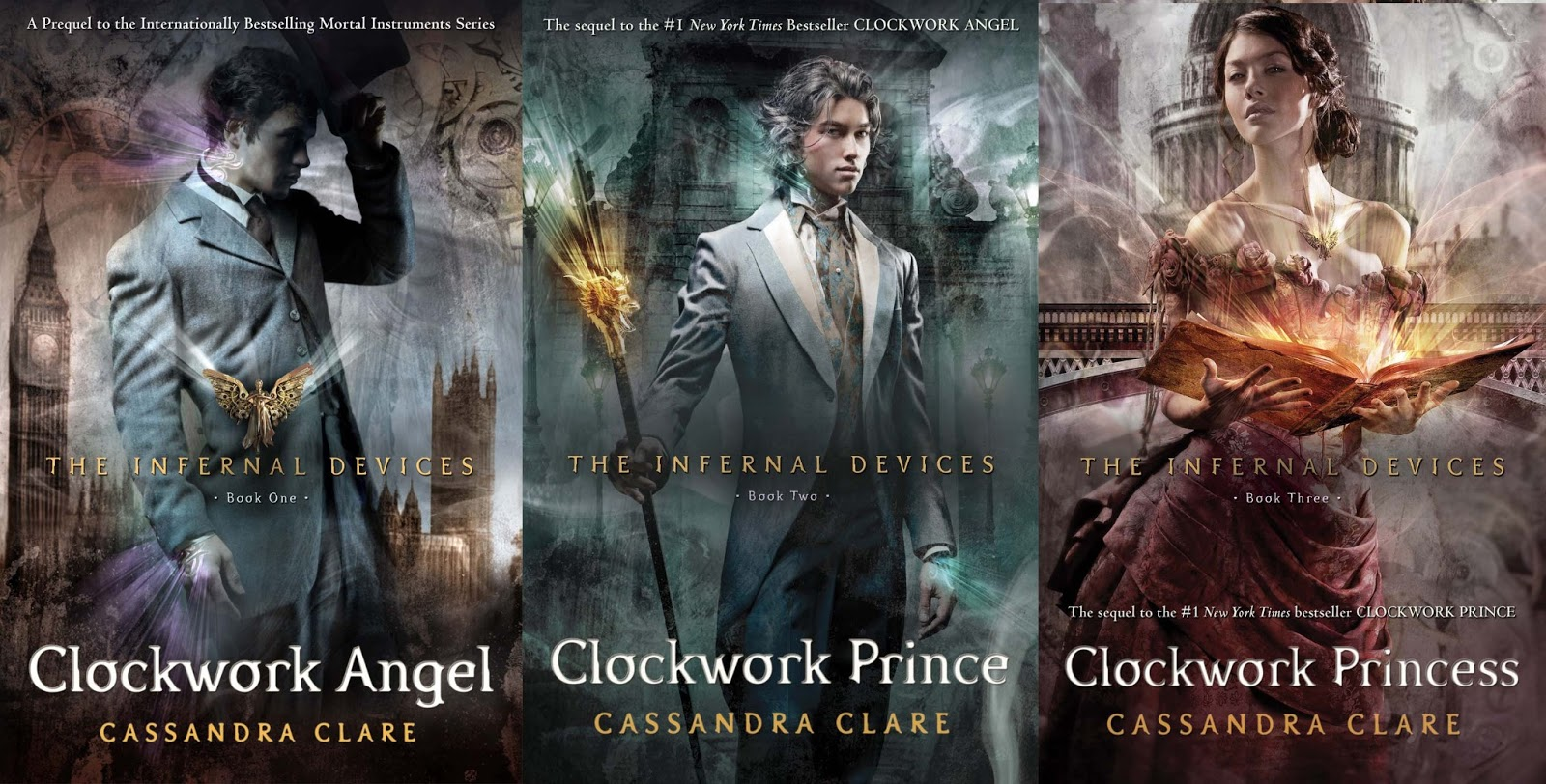 Infernal devices - bibliophile review