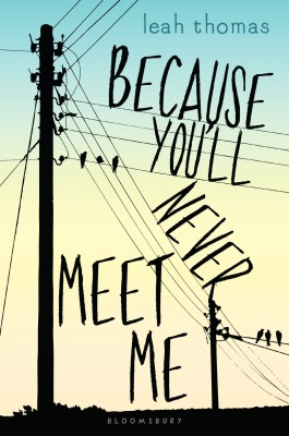 Because you'll never meet me - bibliophile review