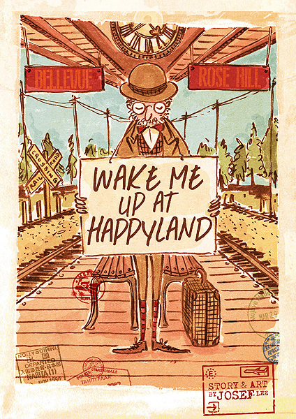 Wake me up at Happyland - bibliophile review