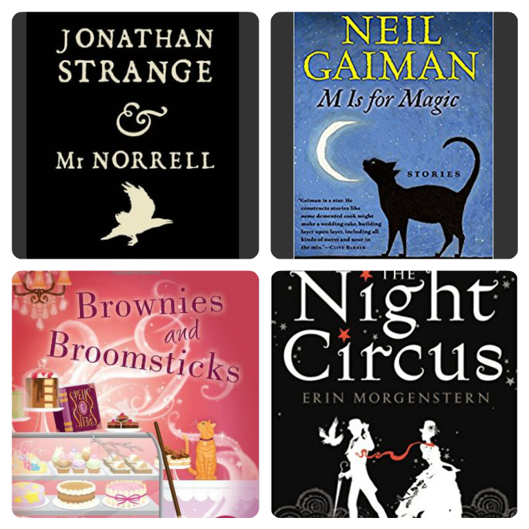 Books about magic - bibliophile review