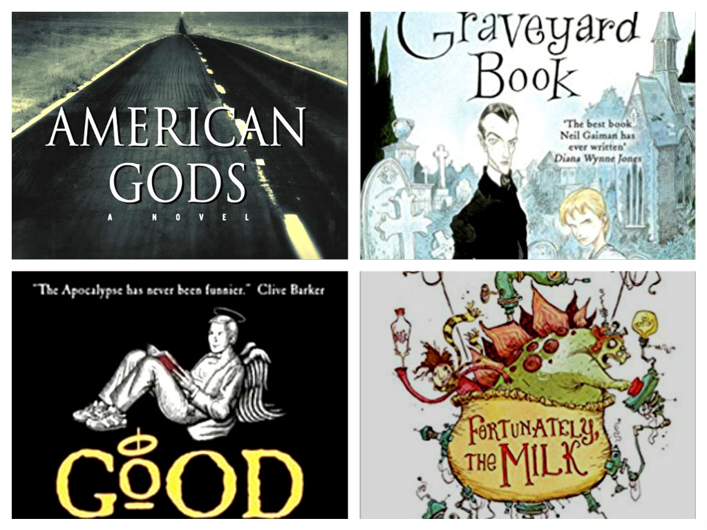 Top five Neil Gaiman books - bibliophile review