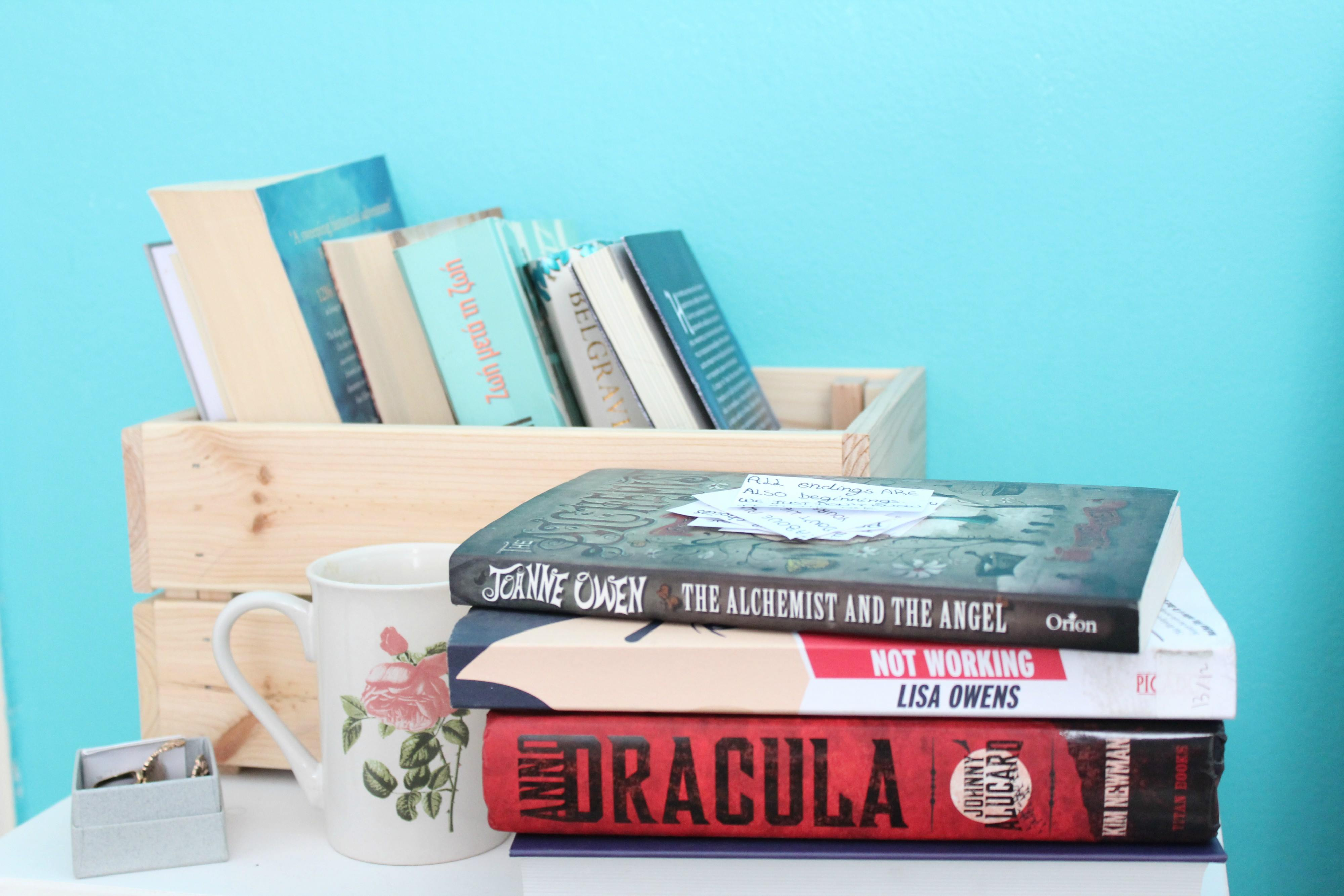 January reading list - bibliophile