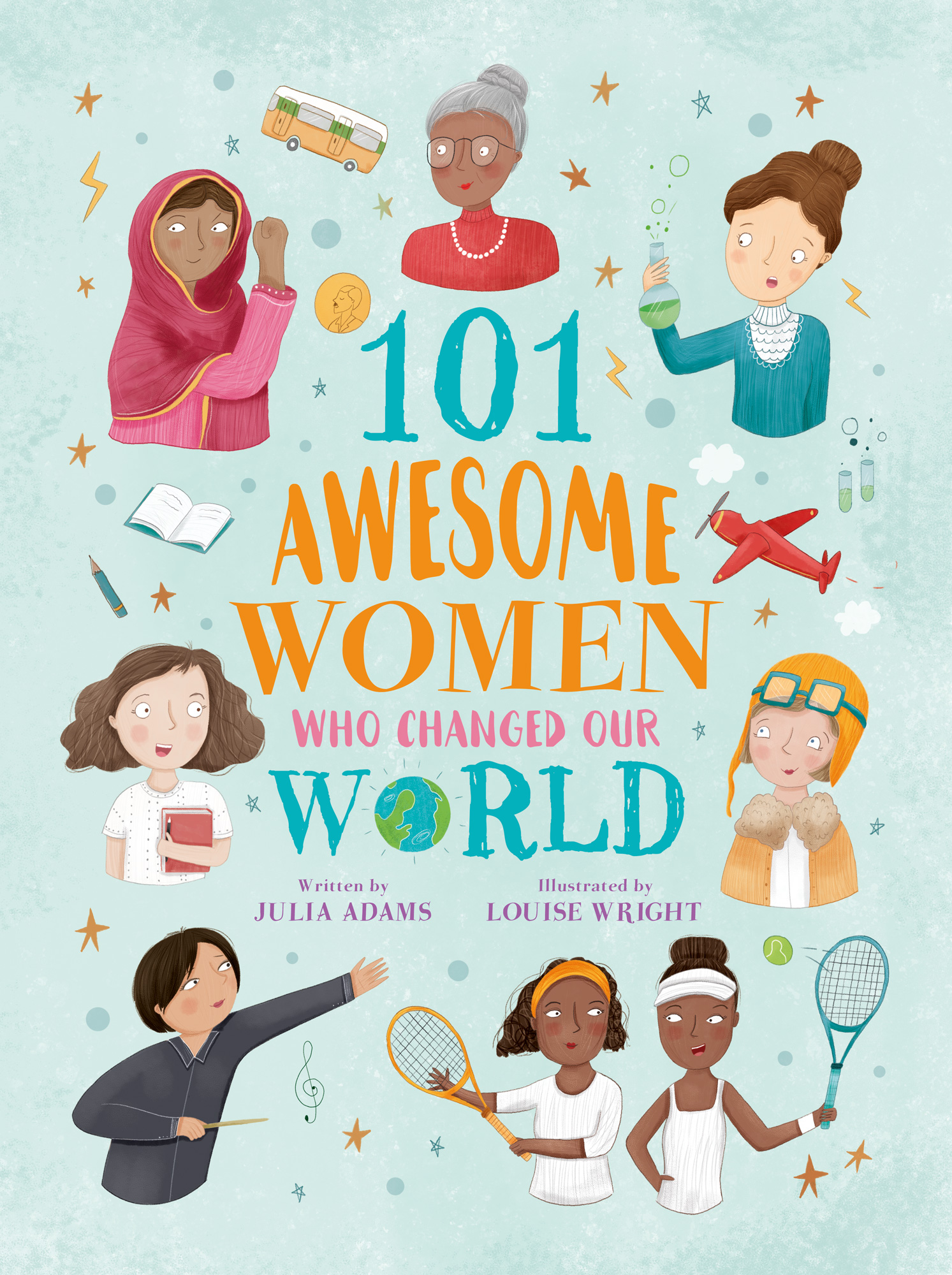 101 awesome women who changed the world - bibliophile review