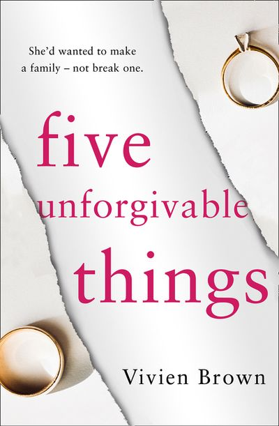 Five unforgivable things - bibliophile review