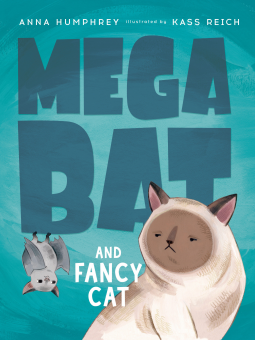 Megabat and Fancy Cat - Bibliophile.gr